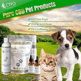 safe CBD pet products